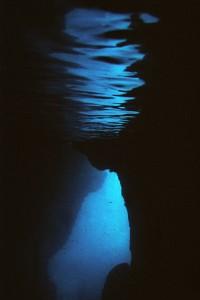 Türkei, Fehtiye - Tauchfoto in einer Höhle